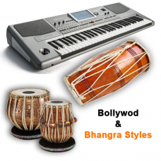KORG Pa800 Styles Indian Set - 23 Tabla Dholak Styles