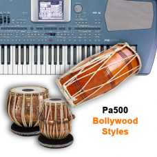 KORG Pa500 Styles Indian Set - 1