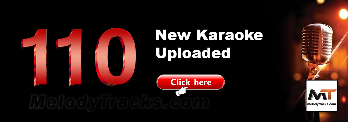110 New Karaoke Tracks added