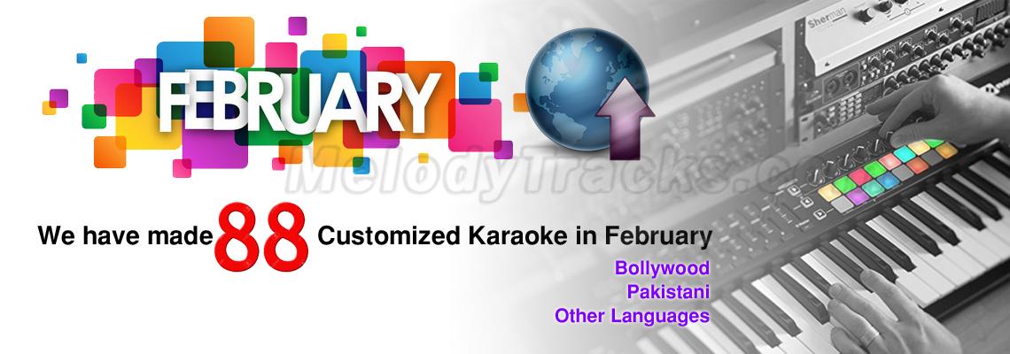 Customized Karaoke - February 2019
