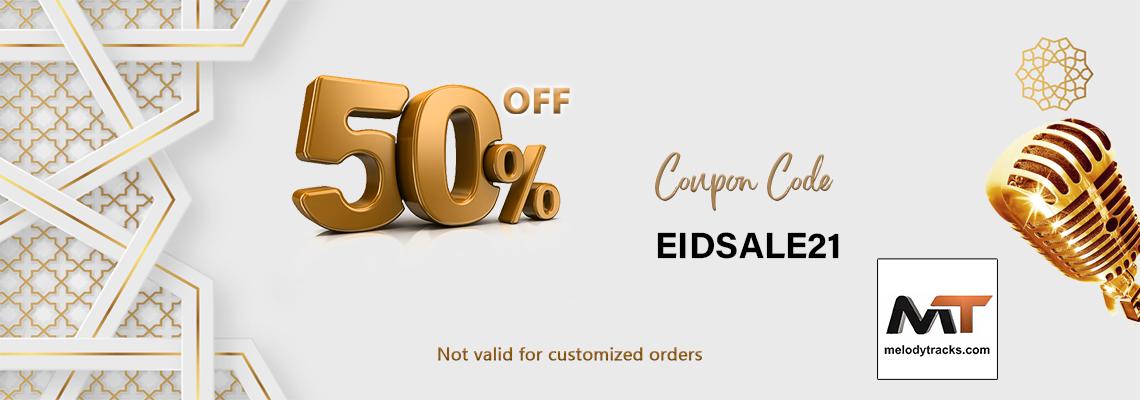 Eid Sale - 50% Off - Store-Wide - Coupon - EIDSALE21