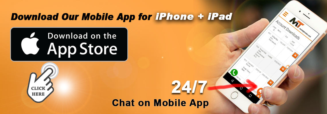 Download our IOS App Now