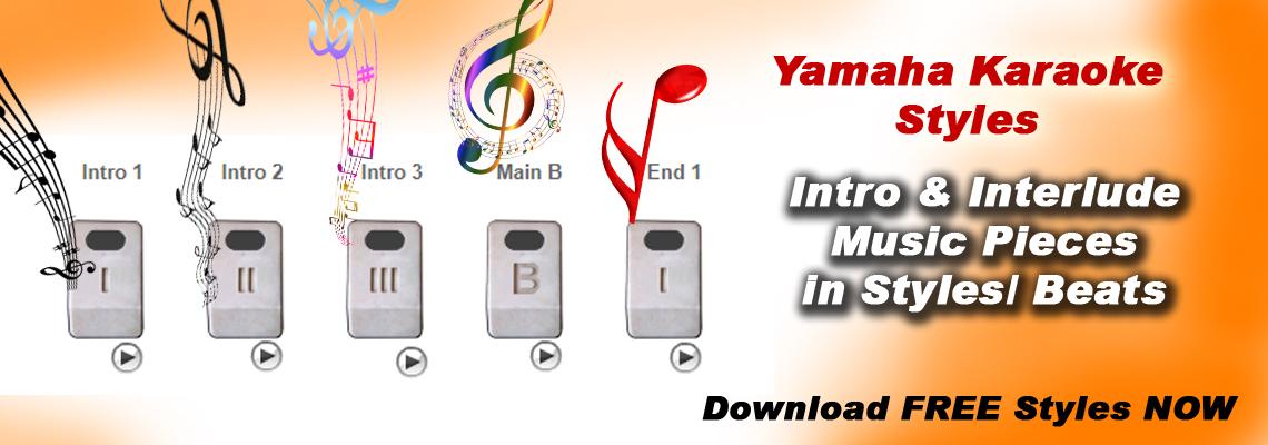 FREE - Mitran De Boot - Jazzy B - Yamaha Karaoke Style