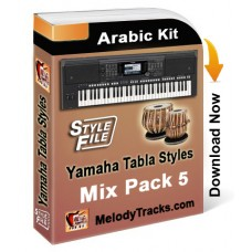 Yamaha Mix Songs Tabla Styles Set 5 - Arabic Kit - Keyboard Beats