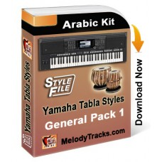 Yamaha General Styles Set 1 - Arabic Kit - Keyboard Beats