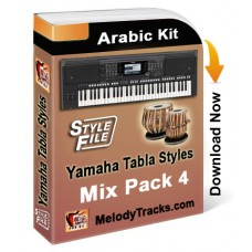 Yamaha Mix Songs Tabla Styles Set 4 - Arabic Kit - Keyboard Beats