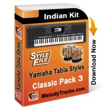 Yamaha Classic Styles Set 3 - Indian Kit (SFF1, SFF2) - Keyboard Beats