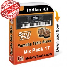 Yamaha Mix Songs Tabla Styles Set 17 - Indian Kit (SFF1, SFF2) - Keyboard Beats