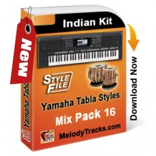 Yamaha Mix Songs Tabla Styles Set 16 - Indian Kit (SFF1, SFF2) - Keyboard Beats