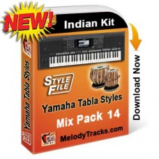 Yamaha Mix Songs Tabla Styles Set 14 - Indian Kit (SFF1, SFF2) - Keyboard Beats