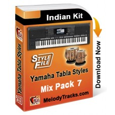 Yamaha Mix Songs Tabla Styles Set 7 - Indian Kit (SFF1, SFF2) - Keyboard Beats