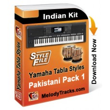 Yamaha Pakistani Songs Styles Set 1 - Indian Kit (SFF1, SFF2) Keyboard Beats