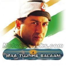 Vande Matram - Maa Tujhe Salam - Karaoke Mp3 - Shankar Mahadevan - Indian National