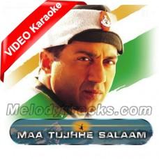Vande Matram - Maa Tujhe Salam - Mp3 + VIDEO Karaoke - Shankar Mahadevan - Indian National