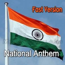 National Anthem - Fast Version - Karaoke Mp3 - Indian National