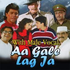 Aa Gale Lag Ja - With Male Vocal - Karaoke Mp3 - Abhijeet - Kavita Krishnamurti