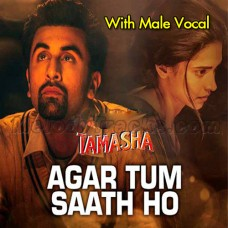 Agar Tum Saath Ho - With Male Vocal - Karaoke Mp3 - Alka Yagnik - Arijit Singh