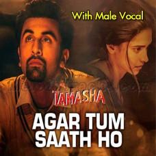 Agar Tum Saath Ho - With Male Vocal - Karaoke Mp3 - Alka Yagnik - Arijit Singh