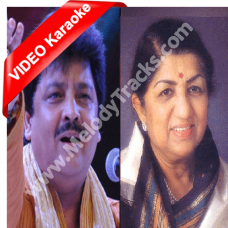 Awaz Do Humko Hum Kho Gaye - Mp3 + VIDEO Karaoke - Udit Narayan - Lata - Dushman 1998