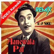 Aane Wala Pal - Remix - Mp3 + VIDEO Karaoke - Kishore Kumar - Dutch Style Mix