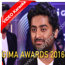 Gima Award 2016 - Mp3 + VIDEO karaoke - Arijit Singh