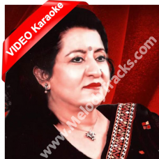 Awargi mein had se - Mp3 + VIDEO Karaoke - Munni Begum