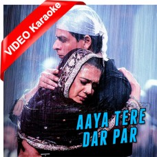 Aaya Tere Dar Par Deewana - Mp3 + VIDEO Karaoke - Ahmed Hussain - Veer Zaara - 2004