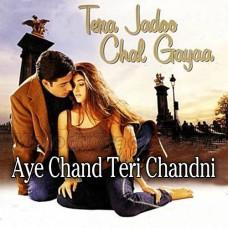 Aye Chand Teri Chandni Ki Kasam - Karaoke Mp3 - Sonu Nigam - Alka Yagnik