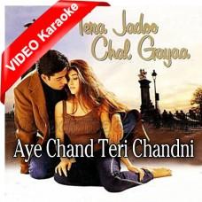 Aye Chand Teri Chandni Ki Kasam - Mp3 + VIDEO Karaoke - Sonu Nigam - Alka Yagnik