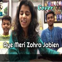 Aye Meri Zohra Jabien - Cover - Karaoke Mp3 - Maithili Thakur