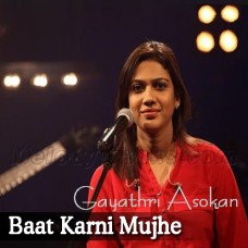 Baat Karni Mujhe Mushkil - Karaoke Mp3 - Gayathri - Courtesy Media On