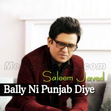 Bally Ni Punjab Diye Shere Jatiye - Karaoke MP3 - Saleem Javed