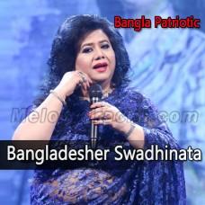 Bangladesher Swadhinata - Karaoke Mp3 - Runa Laila - Bangla