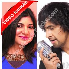Banke Tera Jogi - Mp3 + VIDEO Karaoke - Phir Bhi Dil Hai Hindustani - 2000 - Sonu Nigam - Alka