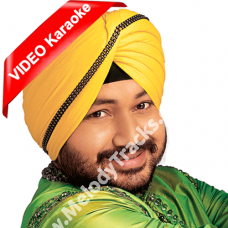 Dardi rab rab kardi - Mp3 + VIDEO Karaoke - Daler Mehdi