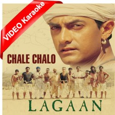Chale Chalo - Mp3 + VIDEO Karaoke - A.R Rehman - Srinivas - Lagaan