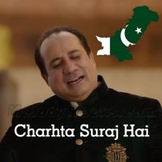 Charhta Suraj Hai Apna Pakistan - Karaoke Mp3 - Rahat Fateh Ali Khan - Pakistani National