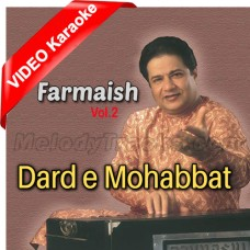 Dard - e - Mohabbat - Mp3 + VIDEO Karaoke - Anup Jalota