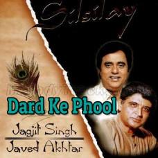 Dard Ke Phool Bhi Khilte Bhikar - Karaoke Mp3 - Jagjit Singh - Ghazal