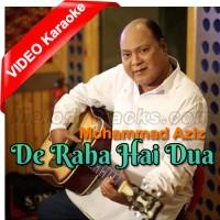 De Raha Hai Dua Mera Dil - Mp3 + VIDEO Karaoke - Mohammad Aziz