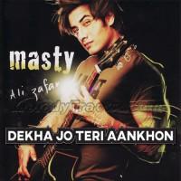 Dekha Jo Teri Aankhon Mein - Karaoke Mp3 - Ali Zafar