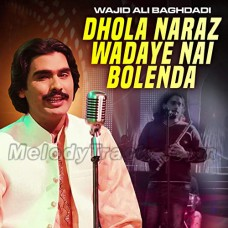 Dhola Naraz Wadaye Nai Bolenda - Karaoke Mp3 - Wajid Baghdadi - Saraiki