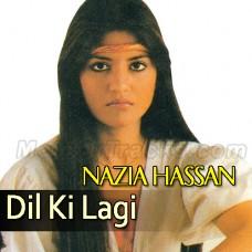 Dil Ki Lagi - Karaoke Mp3 - Nazia Hassan