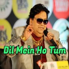 Dil Mein Ho Tum - Karaoke Mp3 - Bappi Lahiri