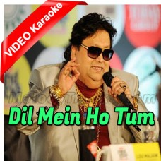 Dil Mein Ho Tum - Mp3 + VIDEO Karaoke - Bappi Lahiri