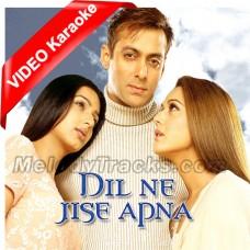 Dil Ne Jisse Apna Kaha - Mp3 + VIDEO Karaoke - Kamal Khan - Sujata Trivedi