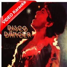 I am a disco dancer - Mp3 + VIDEO Karaoke - Vijay Benedict