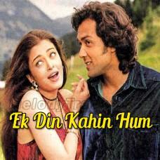 Ek Din Kahin Hum Do Milen - Karaoke Mp3 - Sonu Nigam