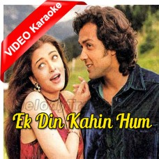 Ek Din Kahin Hum Do Milen - Mp3 + VIDEO Karaoke - Sonu Nigam