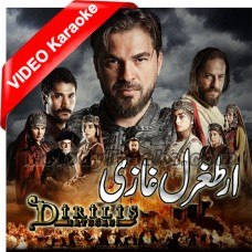 Ertugrul Ghazi Theme Song In Urdu - With Chorus - Mp3 + VIDEO Karaoke - Noman Shah - Dirilis Ertugru